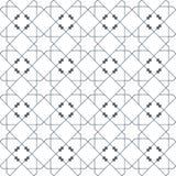 伊斯兰教的无缝的传染媒介样式 根据传统阿拉伯艺术的几何装饰品 东方回教马赛克 土耳其 向量例证