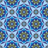 伊斯兰教的无缝的装饰品 库存图片