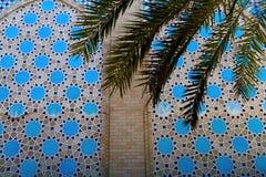 伊斯兰教的样式背景 库存照片