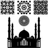 伊斯兰教的样式 库存图片