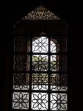 伊斯兰教的框架看法在清真寺的 库存图片