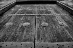 伊斯兰教的清真寺门 免版税库存照片