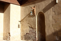 伊斯兰教的灯笼在老清真寺在开罗在埃及 图库摄影