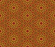 伊斯兰教的特征模式背景 库存照片