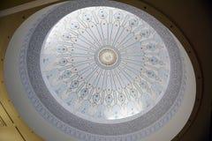 伊斯兰教的美术馆的内在圆顶在吉隆坡 免版税库存图片