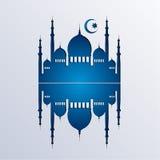 伊斯兰教的背景传染媒介 库存例证