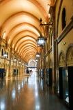 伊斯兰教的艺术博物馆的内部  库存照片