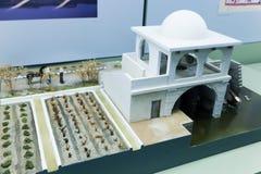 伊斯兰教的艺术博物馆的内部  免版税库存照片