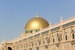 伊斯兰教的艺术沙扎,阿拉伯联合酋长国博物馆  库存照片