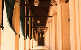 伊斯兰教的艺术清真寺 图库摄影