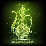 伊斯兰教的节日庆祝的传统水罐 库存图片