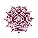 伊斯兰教的花艺术 免版税库存图片