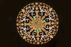 伊斯兰教的设计样式 库存照片