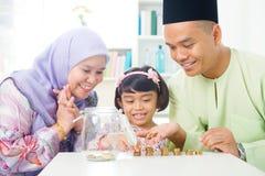 伊斯兰教的银行业务概念。 库存图片