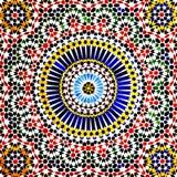 伊斯兰教的马赛克,摩洛哥 库存照片