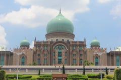 伊斯兰教的建筑学,布城,马来西亚 免版税库存图片