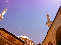 伊斯兰教的architekture 免版税库存照片