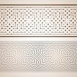 伊斯兰模式 库存图片