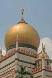 伊斯兰清真寺祷告 免版税库存照片