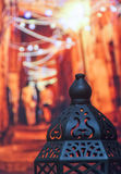 伊斯兰灯笼 免版税库存照片