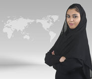 伊斯兰的商业主管presen传统 免版税库存照片