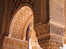 伊斯兰的曲拱 免版税库存照片