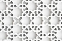 伊斯兰的设计 库存例证