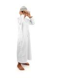 伊斯兰的说明充分祈祷serie 免版税图库摄影