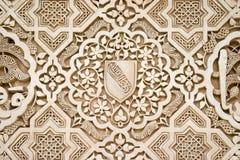 伊斯兰结构的艺术 免版税库存照片