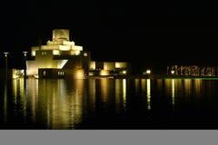 伊斯兰艺术博物馆,多哈,卡塔尔 库存照片