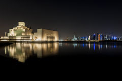 伊斯兰艺术多哈博物馆  免版税图库摄影