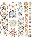 伊斯兰艺术模式 库存图片