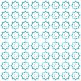 伊斯兰装饰品 与无缝的样式的背景 也corel凹道例证向量 库存照片