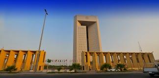 伊斯兰银行的发展 库存图片