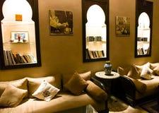 伊斯兰阿拉伯室内结构 图库摄影