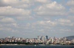 伊斯坦布尔亚洲旁边海边 免版税库存照片