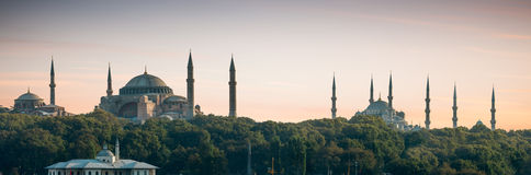 伊斯坦布尔全景 库存图片