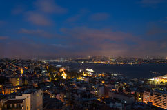 伊斯坦布尔和bosphorus 免版税图库摄影