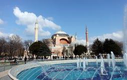 伊斯坦布尔圣索非亚大教堂 免版税库存图片