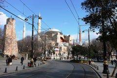 伊斯坦布尔圣索非亚大教堂 库存照片