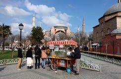 伊斯坦布尔圣索非亚大教堂 免版税图库摄影