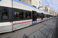 伊斯坦布尔地铁 免版税库存照片
