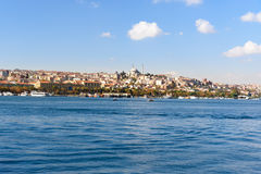 伊斯坦布尔堤防 火鸡 库存图片