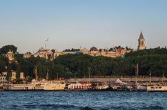 伊斯坦布尔宫殿topkapi火鸡 免版税库存照片
