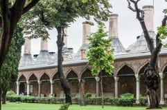 伊斯坦布尔宫殿topkapi 图库摄影
