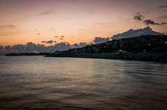 伊斯坦布尔市亚洲旁边海岸线  库存照片