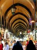 伊斯坦布尔市场香料 免版税库存照片