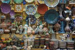 伊斯坦布尔市场,土耳其 免版税库存图片