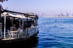 伊斯坦布尔市海运输海岸线 图库摄影