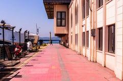 伊斯坦布尔市海运输海岸线 免版税库存图片